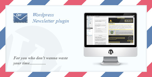 Email Newsletter System - WordPress Plugin - CodeCanyon Item for Sale