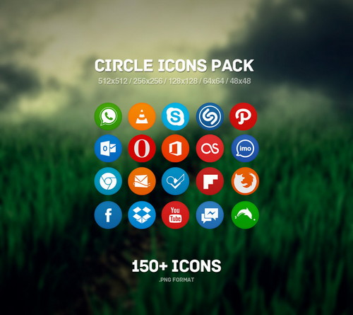 150circle_icons_pack
