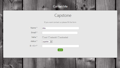 Flexible Contact Form