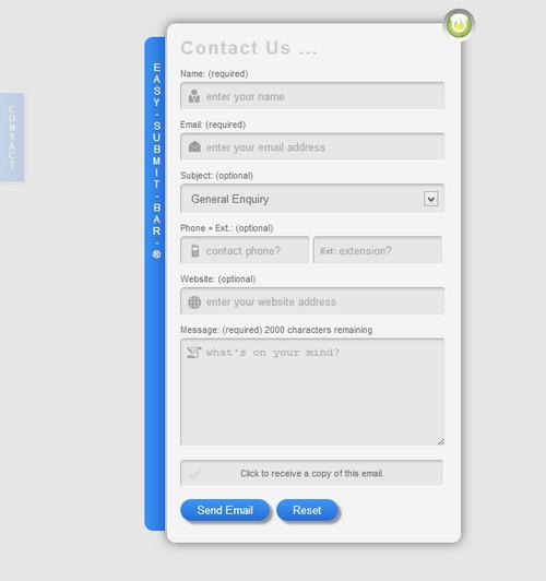 Mega Contact Ajax Contact Form
