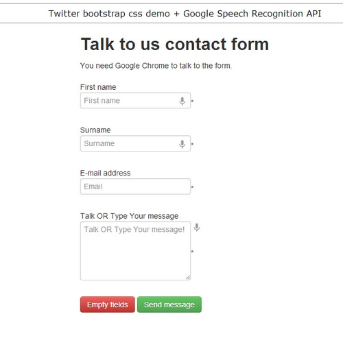 talk google form