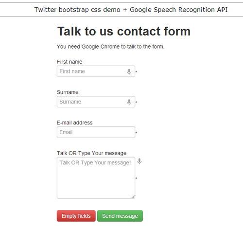talk google form