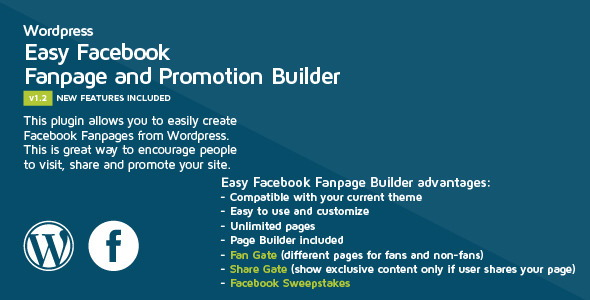 Easy Facebook Fanpage