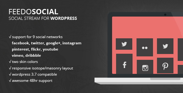 Feedo - WordPress Social Feed