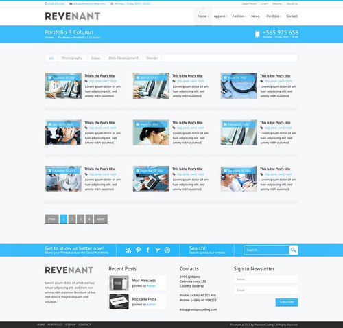 Revenant-portfolio