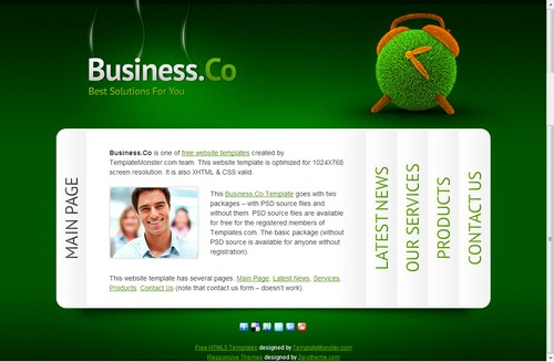 business theme
