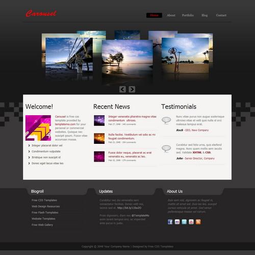 30 Free Dreamweaver Templates Designseer