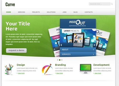 Free Corporate Responsive Template