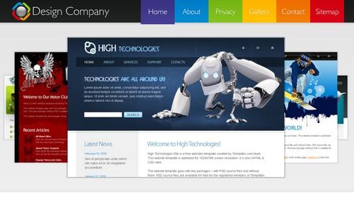 design html template