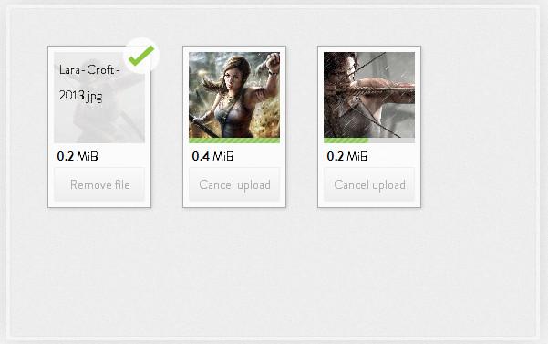 jQuery File Upload Script
