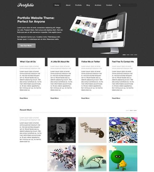 free-portfolio-psd-theme