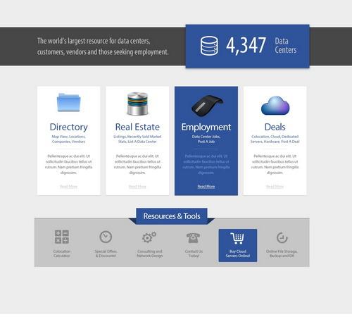 hosting-website-psd