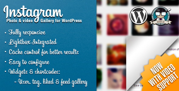 Instagram Photo & Video Gallery