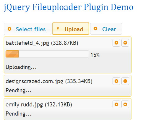 14 Best HTML5 jQuery File Upload Scripts