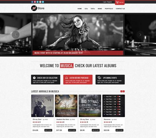 musica-psd-ecommerce-theme
