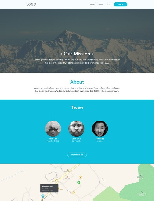 web-template-2014