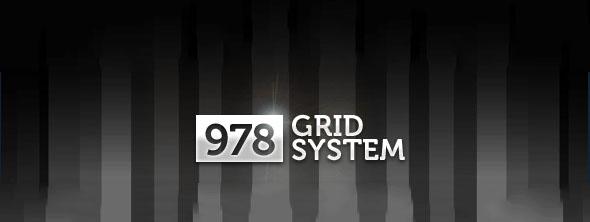 978 Grid System for Web Design