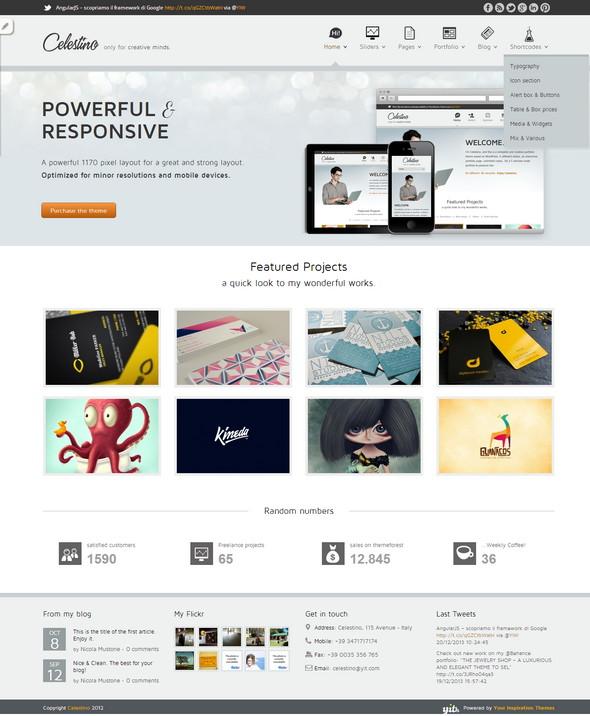 Free Creative Portfolio WordPress Theme