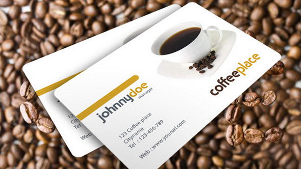 Coffeeplace Business Card psd