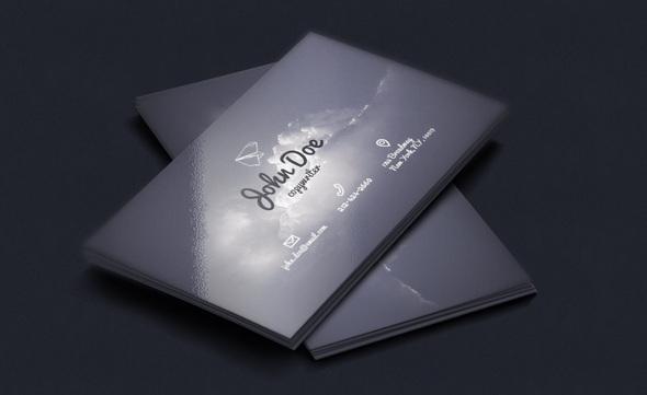 Copywriter Business card psd