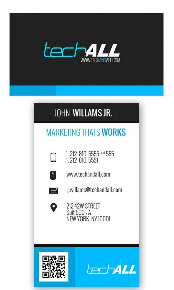 Corporate Business card .PSD Template