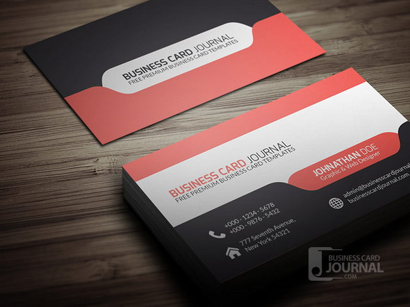 Design Business Card Template PSD