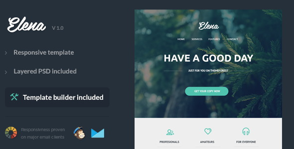 Elena - Responsive Email Template
