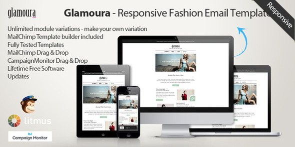 Glamoura - Responsive Fashion Email Template