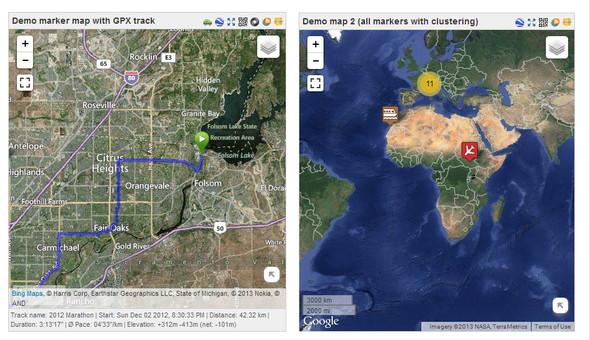 Leaflet Maps Marker plugin
