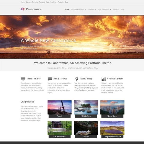 Free Portfolio WordPress Theme