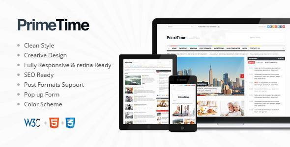 Clean Magazin & Blog HTML5 Template