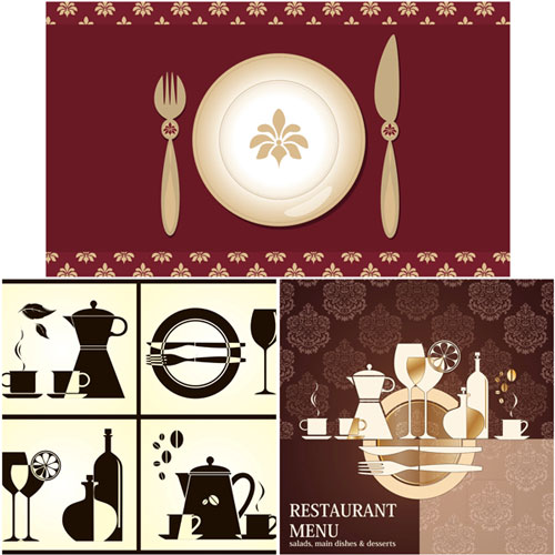 Restaurant-menu-templates-vector