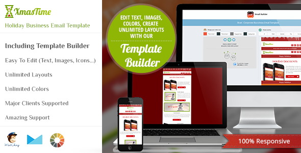 Holiday Business HTML Email Template