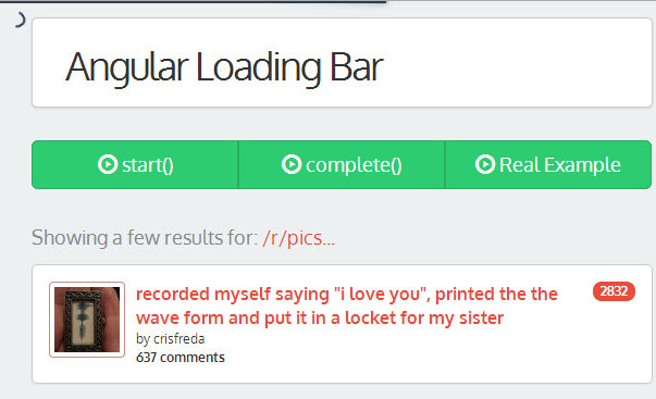 angular loading bar