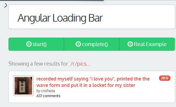 angular loading bar
