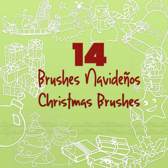 christmas_brushes_by_aguustiina