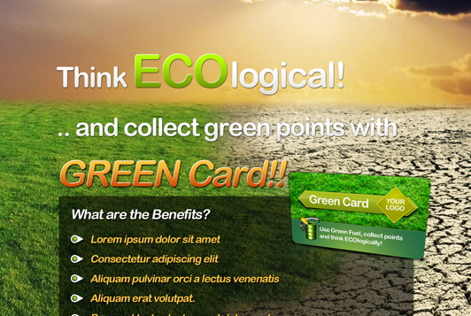Eco Flyer & Bonus Card