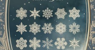 The Magical Snowflakes brushes for christmas