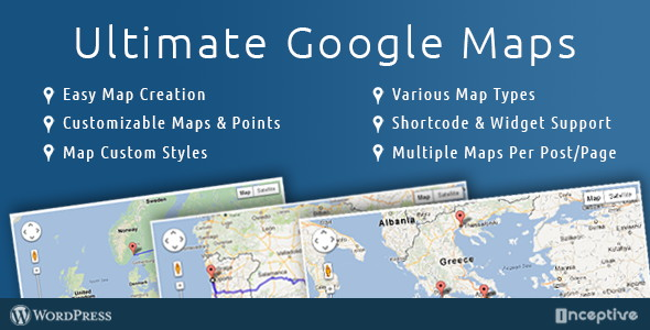 Ultimate Google Map plugin