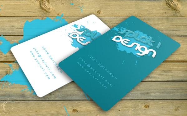 Splat Business Card