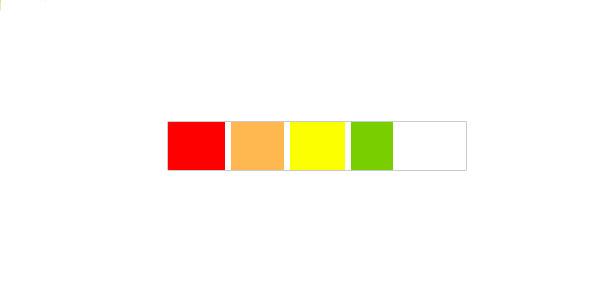 CSS 5 steps progress bar