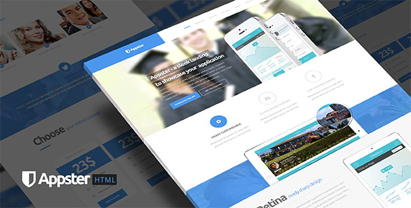 Ultimate Clean App Landing Page Template