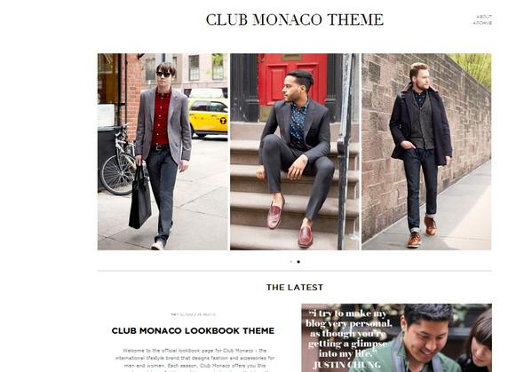 Club Monaco Theme