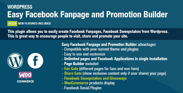 Easy Facebook Fanpage