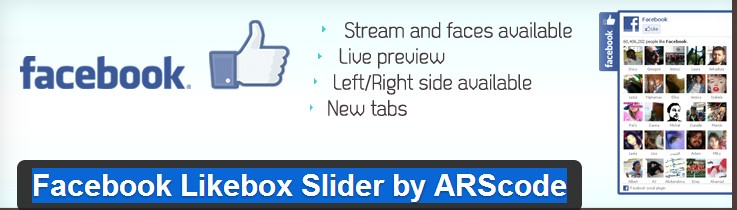 Facebook Likebox Slider Plugin