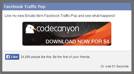 Facebook Traffic Pop