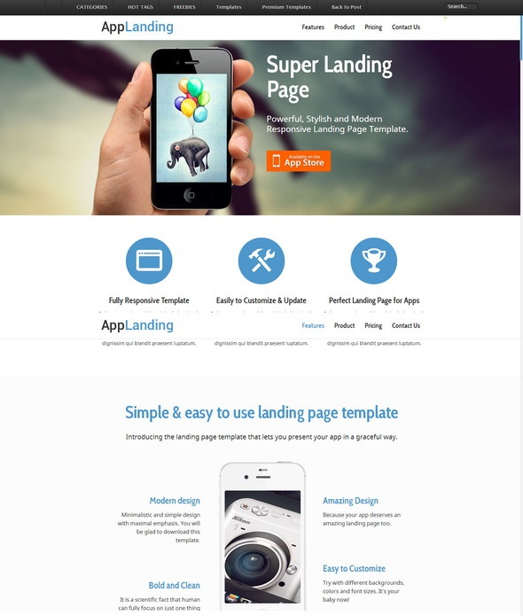 Landing-Page-iPhone-Android-App