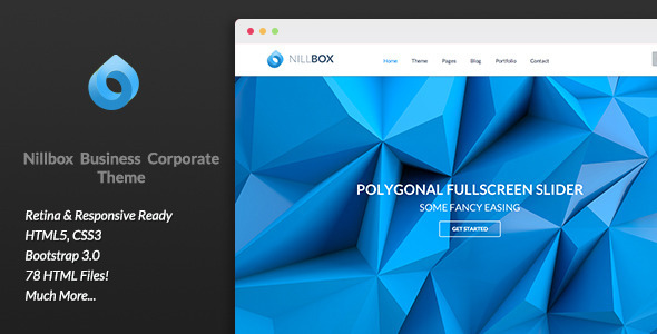 Nillbox Business Corporate HTML Theme
