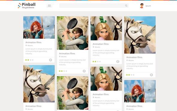 Pinball Website Template Home