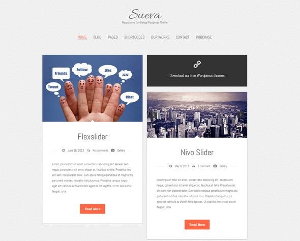 Free Tumblr-Style Themes for WordPress